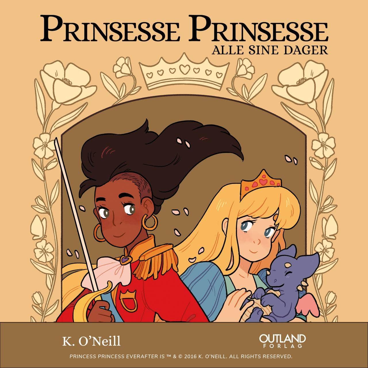Prinsesse prinsesse: en ny tegneserie om oppgjør med kjønnsroller fra Outland forlag