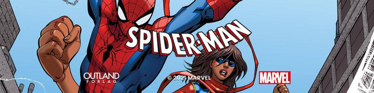 Spider-man: Skrekkens nett - med Miss Marvel for aller første gang på norsk!