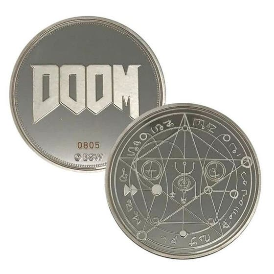 Doom Limited Edition 25th Anniversary Collectible Coin