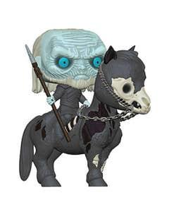 Pop Rides Game of Thrones White Walker On Horse Vin Fig