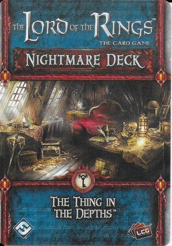 The Lord of the Rings: The Card Game – Nightmare Deck: The Thing in the Depths