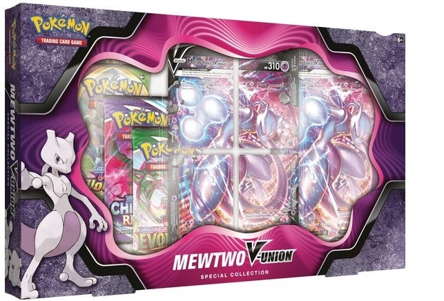 Mewtwo V-Union Special Collection Box