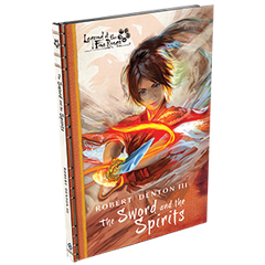 The Sword and the Spirits Novel w/Card