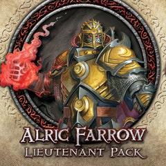 Descent Second Edition: Alric Farrow Lieutenant Miniature