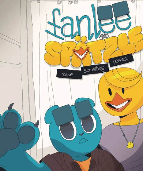 Fanlee And Spatzle Make Something Perfect