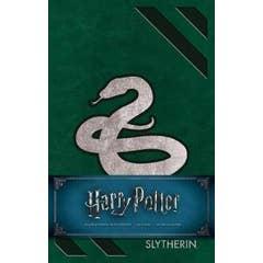 Harry Potter Slytherin Hardcover Ruled Journal: Redesign