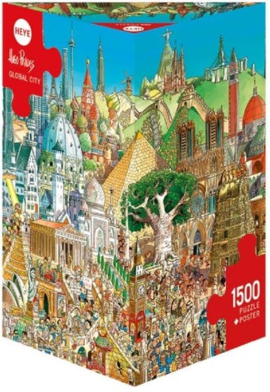 Global City Puzzle (1500)