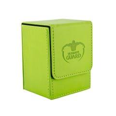 Leather Green Flip Deck Case (80+)