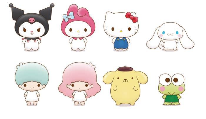 Sanrio Chokorin Mascot Series