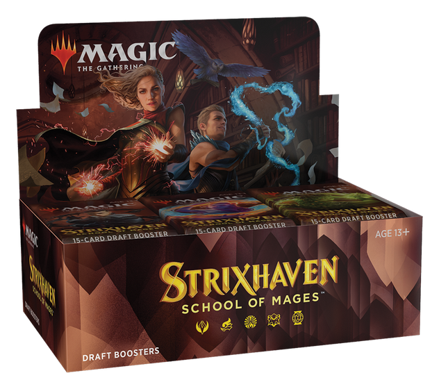 Strixhaven School of Mages Draft Booster Display Box
