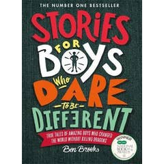 Stories for Boys Who Dare to be Different HC