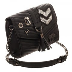 Dark Side Quilted Crossbody Bag