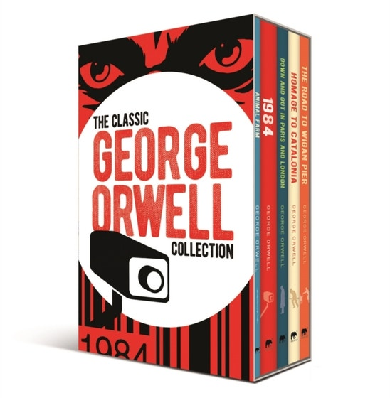 The Classic George Orwell Collection: 5-Volume box set edition