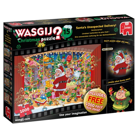 Santa's Unexpected Delivery! Puzzle (1000)
