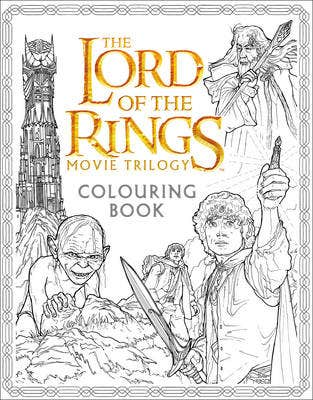 The Lord of the Rings Movie Trilogy Colouring Book (Standard)