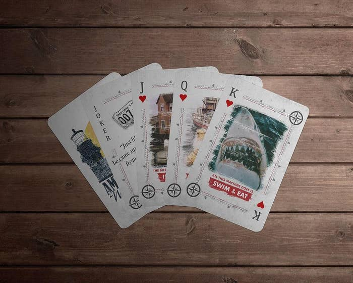 Jaws Playing Cards