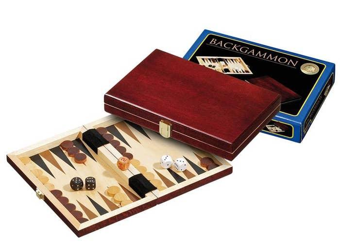 Backgammon Saloniki Mini