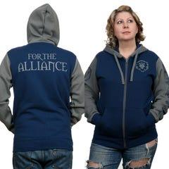 Alliance Pride Zip-Up Hoodie (L)