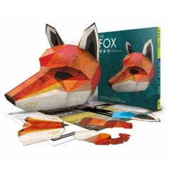 The Fox - Designed by Wintercroft: An enchanting press-out mask for parties and everyday wear