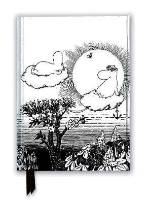 Moomin and Snorkmaiden from Finn Family Moomintroll (Foiled Journal)