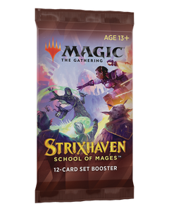 Strixhaven School of Mages Set Booster Pack