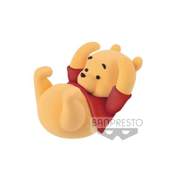 Winnie the Pooh Fluffy Puffy Mini Figure 5 cm