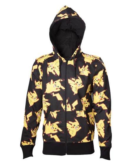 Pikachu All Over Print Hoodie (S)