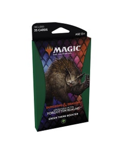 Adventures in the Forgotten Realms Green Theme Booster Pack