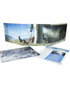 Fallout Wasteland Warfare Gm Screen and Booklet