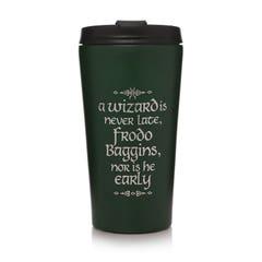 Wizard is Never Late Travel Mug