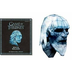 Game of Thrones Mask - White Walker: 3D Mask & Wall Mount