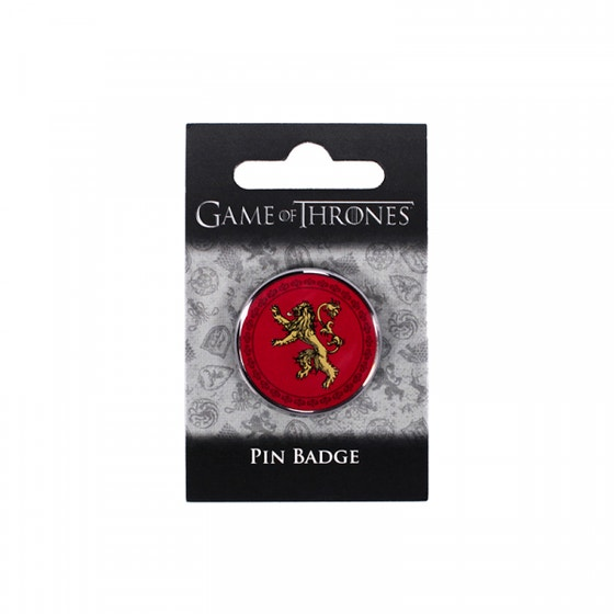 Lannister Pin Badge