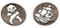 Sea of Thieves Limited Edition Pin Badges (2)
