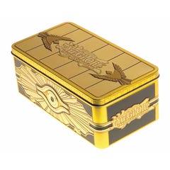 Gold Sarcophagus Tin Box