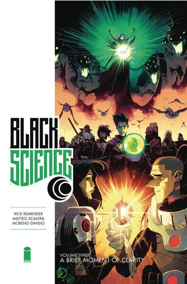 Black Science Premiere Hardcover Volume 3: A Brief Moment of Clarity