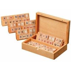 Rummy With Wooden Box, Small