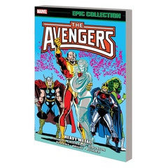 Avengers Epic Collection Heavy Metal