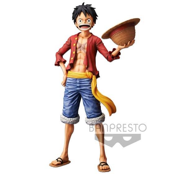 One Piece Grandista Nero Monkey D Luffy Fig
