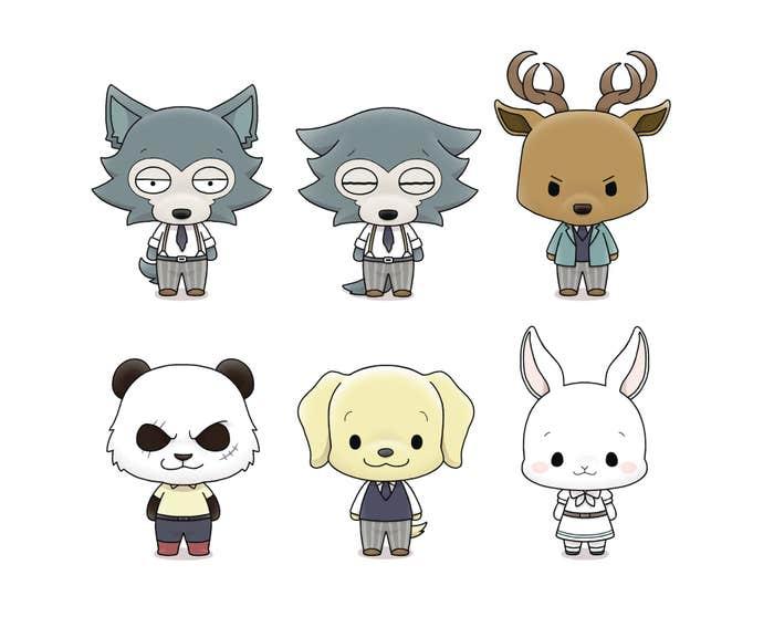 Beastars Chokorin Mascot Series 6pc Ds