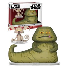 Jabba & Salacious Crumb VYNL Figure 2-Pack