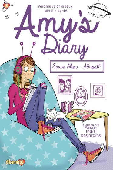 Amy's Diary #1: Space Alien...Almost?