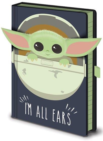 I'm all Ears Crib Premium Notebook A5