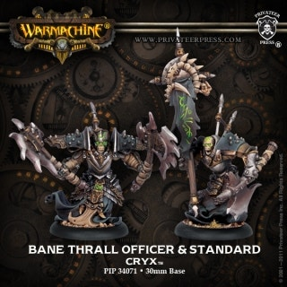 Bane Thrall Officer & Standard Bearer