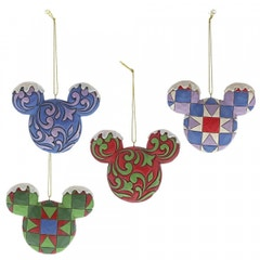 Mickey Mouse Head Hanging Ornament