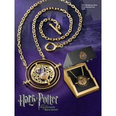 Time Turner Sterling Silver Gold Plated Replica