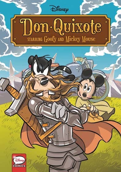 Disney Don Quixote, starring Goofy and Mickey Mouse (Graphic Novel)