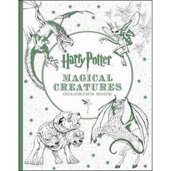 Harry Potter Magical Creatures Coloring Book: Official Coloring Book, the