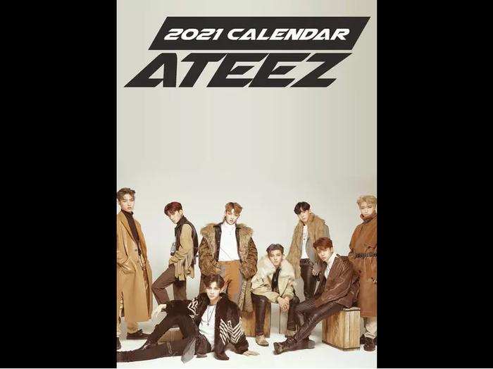 Ateez 2021 Unofficial Calendar