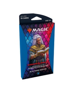 Adventures in the Forgotten Realms Blue Theme Booster Pack