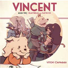 Vincent Book Two: Heartbreak and Parties 101